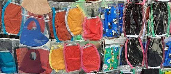 jenis bahan masker kain